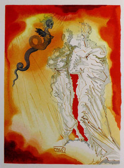 Canto 17 (Hell) by Salvador Dali