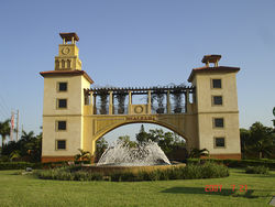 Raul Martinez had Hialeah spend $411,000 to build a two-story backdrop for a fountain.