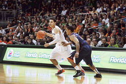 Shane Larkin, son of MLB star Barry, anchors the offense.