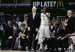 In his second season at UM, Larranaga steered the Hurricanes on a 14-game winning streak.
