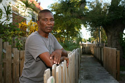Cabbie Pierre Jean-Charles was stabbed in a Miami Beach parking dispute.