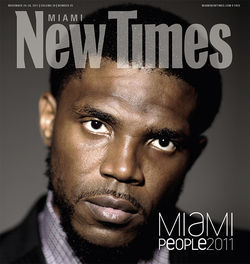 Miami Heat player and philanthropist Udonis Haslem. View our Miami People 2011 slide show.