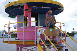 Cayetano Garcia is a lifeguard on South Beach. He was the U.S. monofin champ — until Armas came along