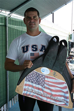 Joel Armas was a champion swimmer in Cuba before making an attempt to raft to Florida. He was caught just five miles from Key West and spent 18 months in the barracks at Guantánamo