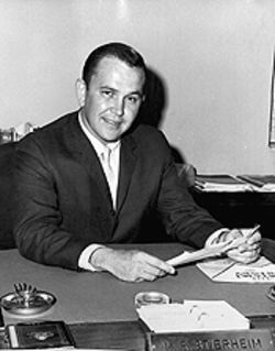 Early Sixties: Stierheim the straight arrow during his stint as an assistant Miami city manager