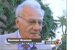 Car dealer Norman Braman became the victim of radio attacks