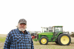 Kansas farmer Bryce Stephens had to stop growing organic corn and soybeans for fear of contamination and has 30-foot buffer crops to protect his organic wheat.