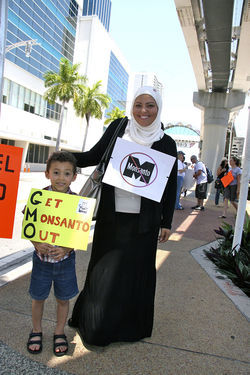 In South Florida, Monsanto protesters of all ages made their concerns known in May.