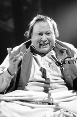 The late, great Nusrat Fateh Ali Khan, a towering figure 