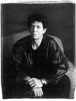 Portrait of Lou Reed by Timothy Greenfield-Sanders