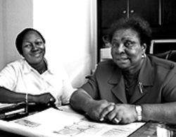 Patricia Seabrooks, left, and Rev. Juanita Mincey have been fighting the AIDS fight virtually unnoticed for almost twenty years