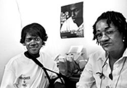 After ten years in the trenches, Petera Johnson-Hobson, left, and Vanessa Mills finally latched onto the funding to run their own program