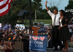Barack Obama's constant campaigning in Florida paid off.