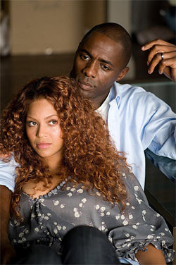 Beyoncé Knowles and Idris Elba in Obsessed