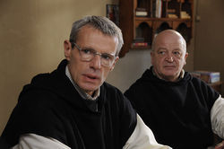 Lambert Wilson and Jean-Marie Frin in Of Gods and Men