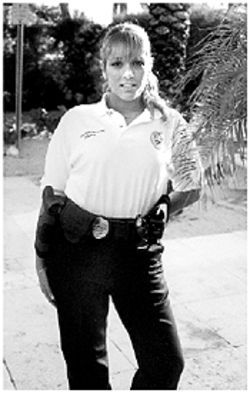 Santinello as a Golden Beach cop