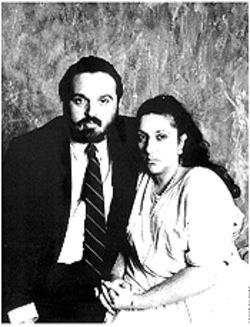 Andres and Lisette Nogues at the time they were fighting their daughter&#039;s accusations in court