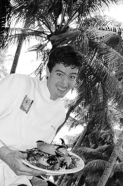 Chef Kris Wessel successfully navigates tricky 