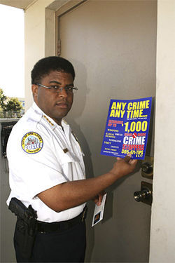 Former Opa-locka Police Chief James Wright, when he had a job.