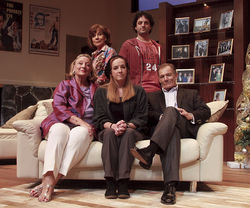 The cast of Other Desert Cities, the kind of production that wins awards and is never forgotten.
