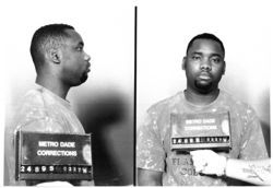 """Little Mario"" Gray declined the chance to be shot with tranquilizer darts but agreed to move a few barrels"
