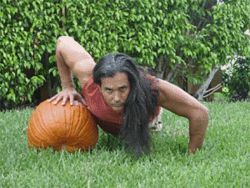 Pumping pumpkin with Julio Anta, your local  hung gar kung fu master