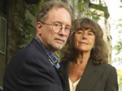 Bill Ayers and Bernardine Dohrn, photographed in 2001, are now professors in Chicago.