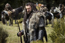 Richard Armitage as the dwarf warrior Thorin Oakenshield.