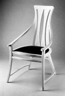 Peter Behrens's 1902 chair