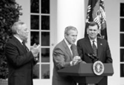 This past October, when President Bush stood in the Rose Garden with Colin Powell and Mel Martinez to announce the creation of his Cuba commission
