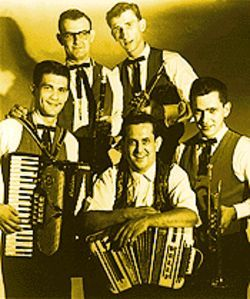 Li'l Wally and the Harmony Boys, one of his early bands