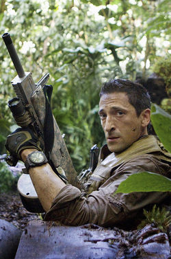 Adrien Brody in Predators.