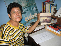Carlos at his home in Havana