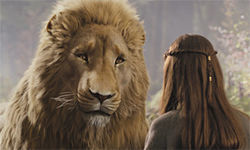 Aslan — big lion, bigger symbol: Jesus Christ!