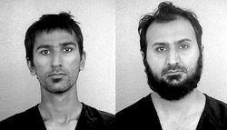 Raees Qazi and Sheheryar Qazi: Batteries, peroxide, remote-control-car parts, Christmas lights.