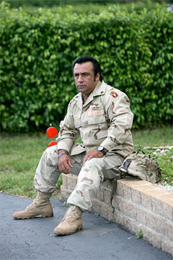 Frank Cabadiana lost most of his hearing in Ramadi. But he found God there