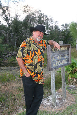 Lucky Cole has no problem getting beautiful women to undress in the Everglades
