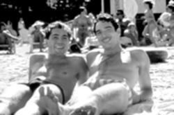 Beach Blanket Bibliophile: Javier Bardem (left) takes  Reinaldo Arenas, Cuba's premier literary rebel, to the  big screen