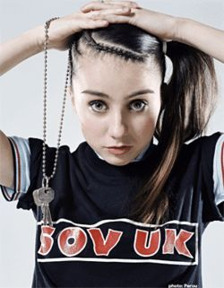 Don't accuse the pixyish Lady Sovereign of possessing elfin magic