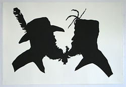 Miller &amp; Shellabarger&#039;s Untitled Silhouette (Conjoined Various Numbers)