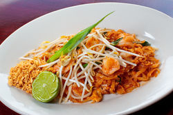 Sawaddee Thai-Sushi's pad thai. View our Sawaddee Thai slide show.