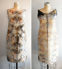 Nickless's silk shifts Eco Dress 1 and Eco Dress 2.