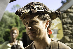 Sam Rockwell: Colonial and crazy.