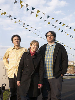 Like an old shoe: Ira Kaplan (left), Georgia Hubley, and James McNew of Yo La Tengo