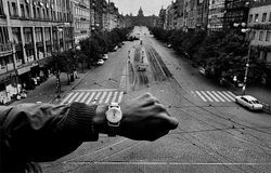 Josef Koudelka's photos document the 1968 Soviet invasion of Prague.