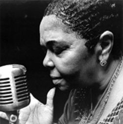Cesaria Evora feels no sodade when she sings her songs of love