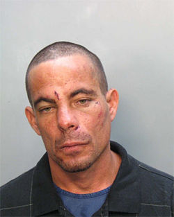 Reynaldo Martin was arrested twelve times by Miami Beach police in 2006