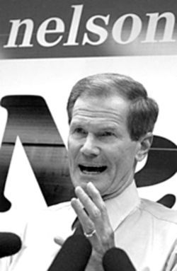 Sen. Bill Nelson: Since when does he get to pick the Democratic Party&#039;s gubernatorial candidate?