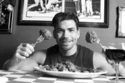 Mark Randazzo, former boxer, two-fisted chef