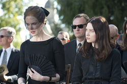Nicole Kidman and Mia Wasikowska: Impossibly poised and invulnerable.